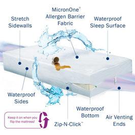 Matratzenkomplettschutzbezug CleanRest Pro Max
