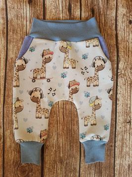 Baggy-Pants Giraffe Baby-blau