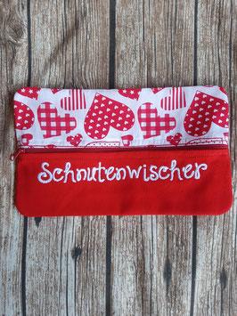 Feuchttücher-Tasche Schnutenwischer Rote Herzen