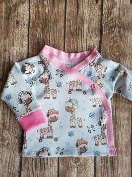 Wickleshirt Giraffe/Rosa