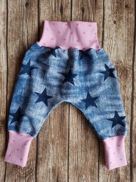 Pumphose Jeans Sterne