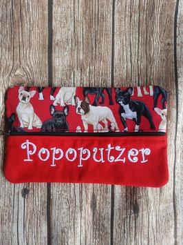 Feuchttücher-Tasche Popoputzer Bullys Rot