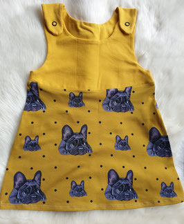 Latzkleid Bully Senfgelb