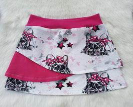 Lagenrock  Französische Bulldogge Pink