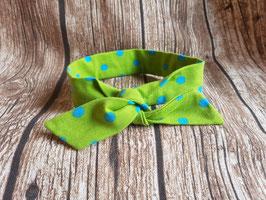 Knoten-Haarband grün/türkis