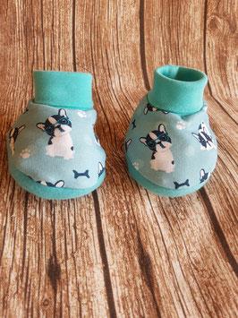 Baby-Boots Französische Bulldogge