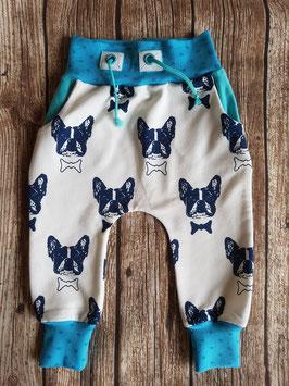 Baggy Pants Französische Bulldogge Weiß