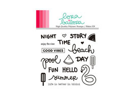 Clear Stamps Set LORABAILORA Bikini