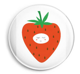 "Button ""Strawberry"""