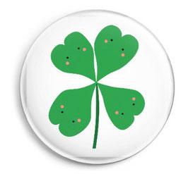 "Button ""Four Leaf Clover"""
