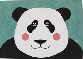 """Postcard """"Panda Bear"""" (without text)"""