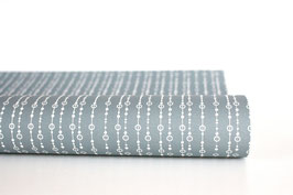 """Wrapping Paper """"Pearls"""", blue"""