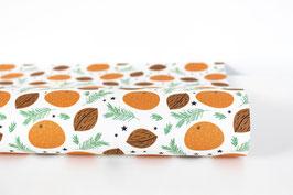 "Wrapping Paper ""Mandarin"",white"