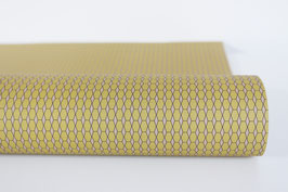"""Christmas Wrapping Paper """"Hexagon"""", nude"""