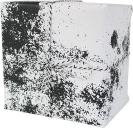 Wrapping Paper Marble, black/white (3 sheets)