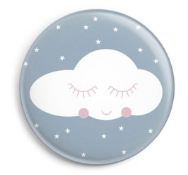 """Button """"Cloud and Stars"""""""