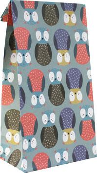 "Paper Gift Bags ""Owls"" (6 pcs.)"