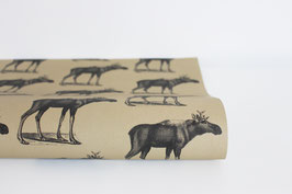 "Wrapping Paper ""Elk"" (3 sheets)"