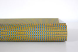 """Christmas Wrapping Paper """"Hexagon"""", blue"""