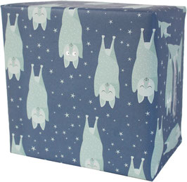 "Wrapping Paper ""Little Bat"" (3 sheets)"