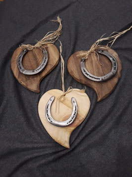 Romantik Herz mit Hufeisen