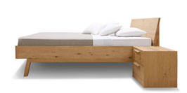 Massivholzbett Modell Cortina