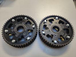 Verstellbare Nockenwellenräder 2 Stück für alle 5 Ventil V Motoren mit Zahnriemen