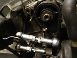 Koppelstangen Saugrohrverstellung Stahl verzinkt LANG für 3.7er  Motoren