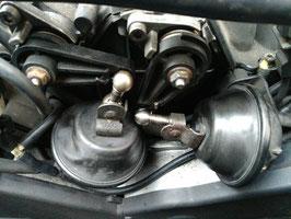 Koppelstangen Saugrohrverstellung Stahl verzinkt KURZ für 4.2er AQF, AUW Motoren