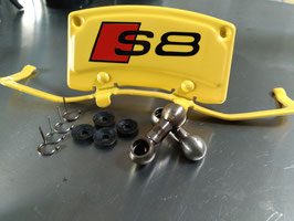 Koppelstangen Saugrohrverstellung Edelstahl KURZ für 4.2er AQF, AUW Motoren