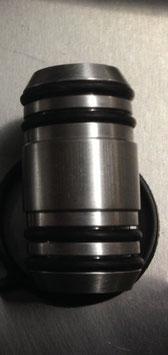Wasserrohr (Aluminium) Ölfiltermodul 077 117 411 A inkl. 4 Dichtringe