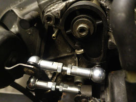 Koppelstangen Saugrohrverstellung Stahl verzinkt LANG für 3.7 BFL Motoren