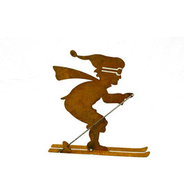 Deko Skifahrer