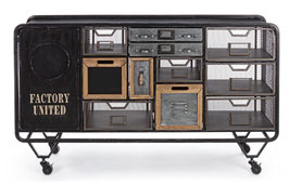 Bizzotto - Sideboard  - Liverpool - Metall