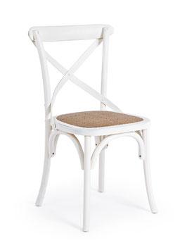 Bizzotto - Stuhl Cross - Holz - 10 Farben