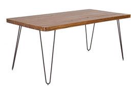 Bizzotto - Tisch Edgar - Holz/Metall - braun
