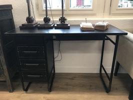 Schreibtisch - Oxford - Metall schwarz