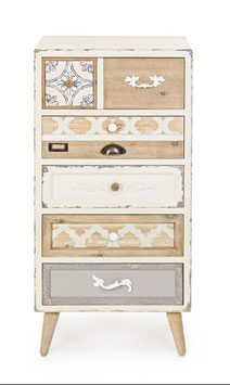 Bizzotto - Kommode Aurelie - Shabby Chic