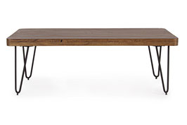 Bizzotto - Coffeetable Edgar - Holz/Metall - braun
