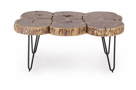 Bizzotto - Couchtisch Edgar - Holz/Metall - braun