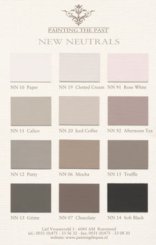 Painting the Past - Muster - New Neutrals