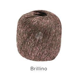 Brillino Farbe 7, Taupe/Rosa, Beilaufgarn mit farbigem Lurexfaden