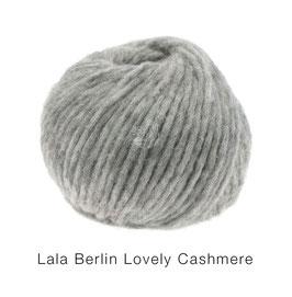 Lala Berlin Lovely Cashmere Farb-Nr. 9, Grau/Beige meliert, Soffilo mit Kaschmir