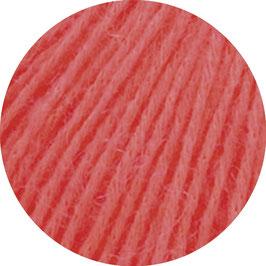Ecopuno Farbe 36 Himbeer, Edles Garn aus Baumwolle mit Merino und Alpaka