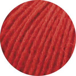 Ecopuno Farbe 6 Rot, Edles Garn aus Baumwolle mit Merino und Alpaka