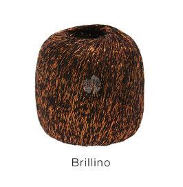 Brillino Farbe 16, Mokka/Kupfer, Beilaufgarn mit farbigem Lurexfaden