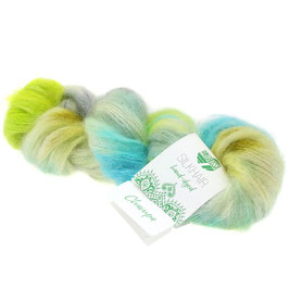Silkhair Hand-Dyed  Farbe  607, Champa, Feines Lace-Garn aus Superkid Mohair mit Seide, handgefärbt