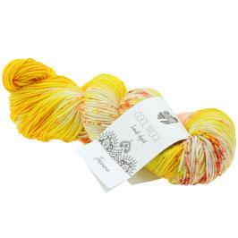Cool Wool Hand-Dyed Farbe 108, Extrafeine Merinowolle waschmaschinenfest und filzfrei, handgefärbt