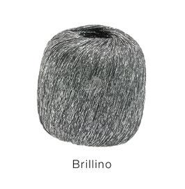 Brillino Farbe 6, Grau/Silber, Beilaufgarn mit farbigem Lurexfaden