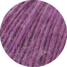 Ecopuno Farbe 40 Beere, Edles Garn aus Baumwolle mit Merino und Alpaka